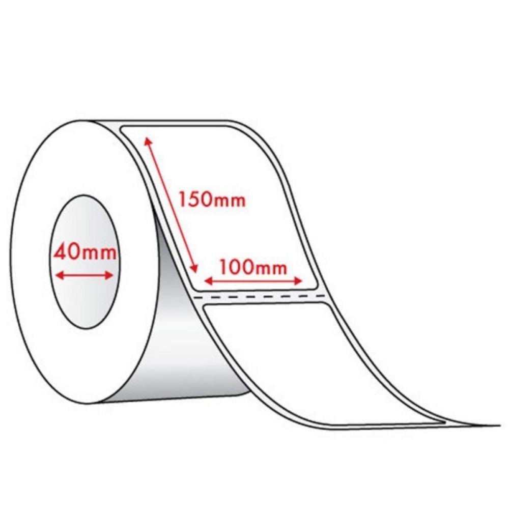 Bobina de Etiqueta para Correios Couchê 100mm x 150mm - 235 Etiquetas  - Casa do Roadie