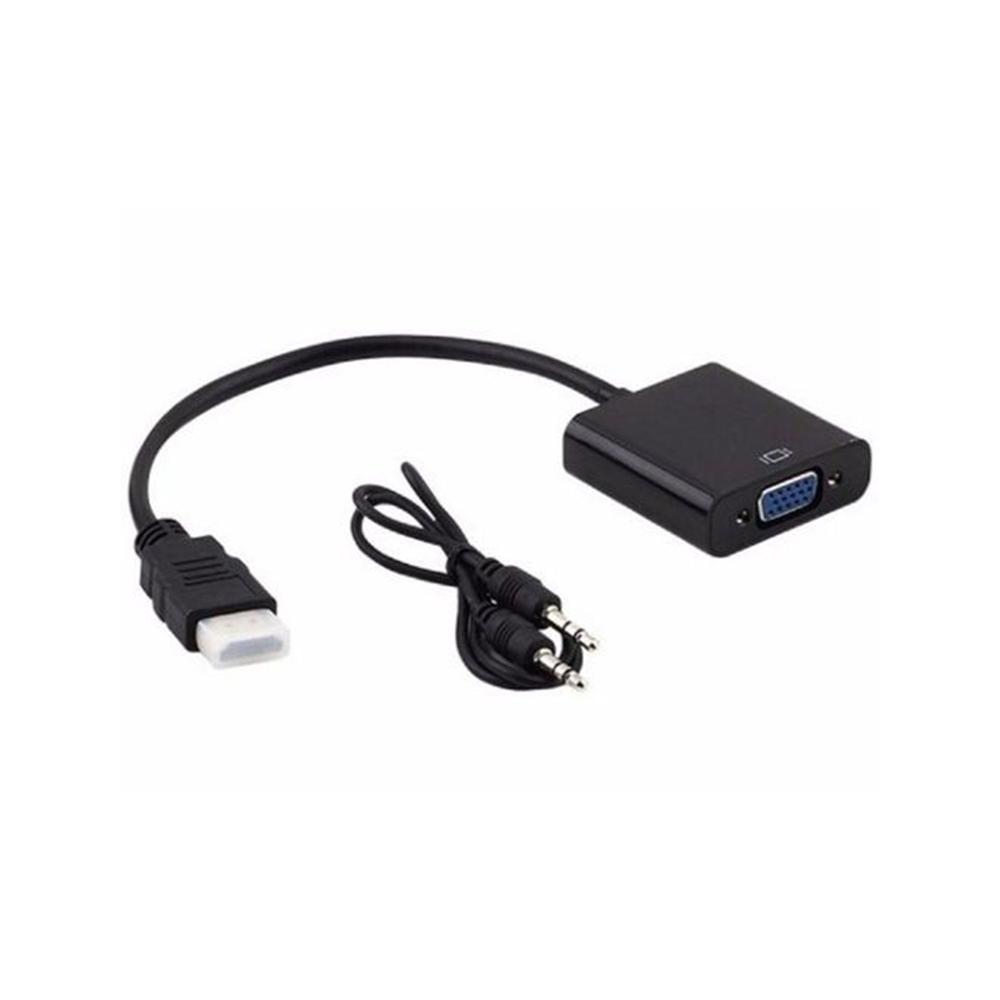 Cabo Adaptador Conversor HDMI para VGA