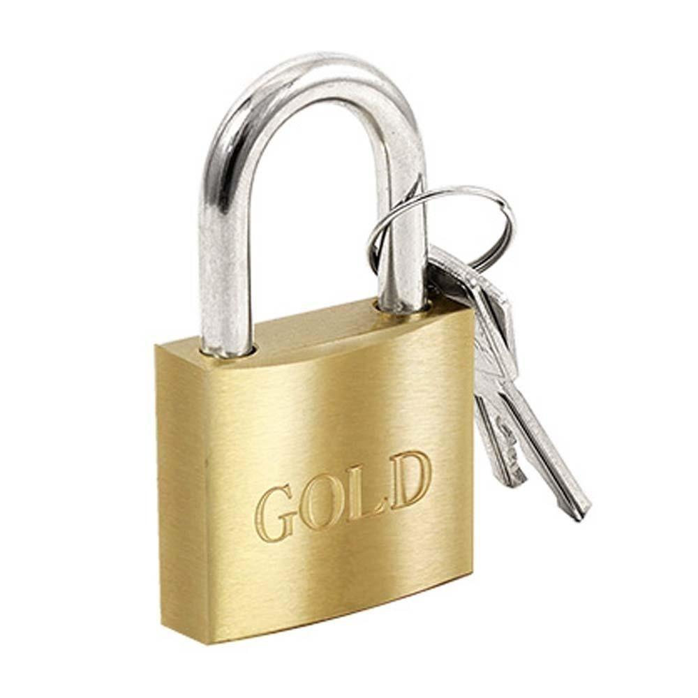 Cadeado de Latão 20mm Gold