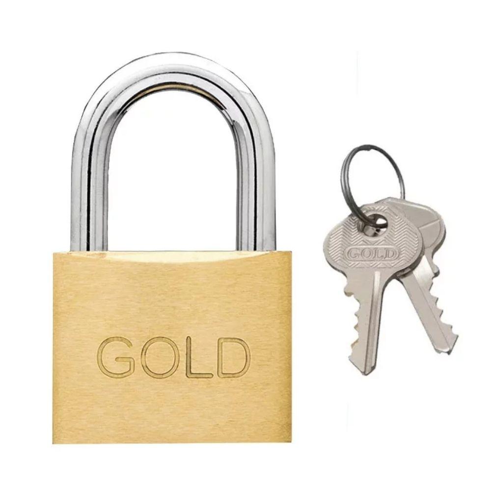 Cadeado de Latão 40mm Gold