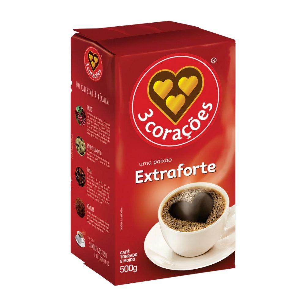 Café 3 Corações Extra forte - 500g
