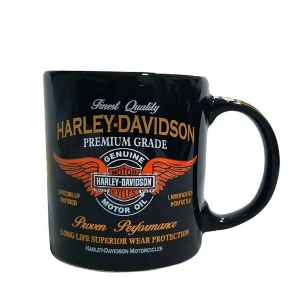 Caneca Cerâmica Harley Davidson 300ml