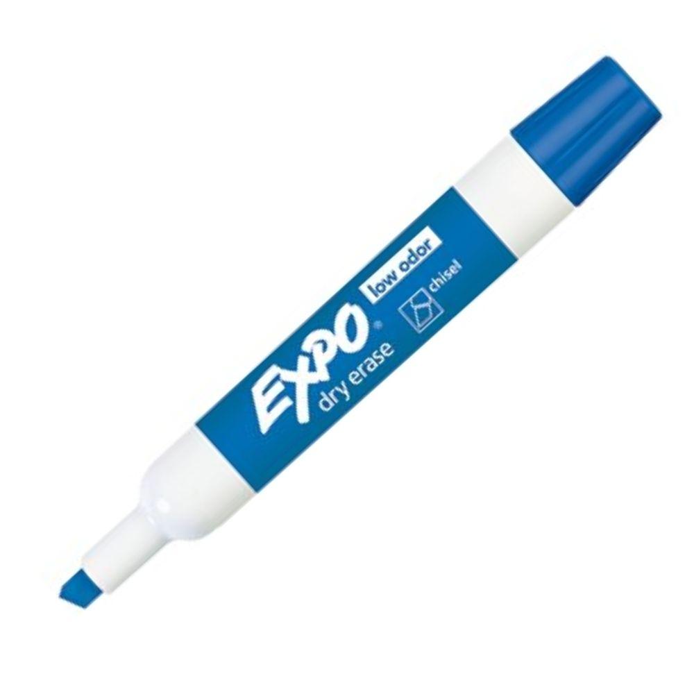 Caneta Marcadora de Quadro Branco Sharpie/Expo Azul