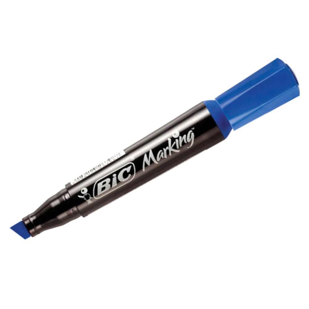 Caneta Marcadora Permanente Bic Azul
