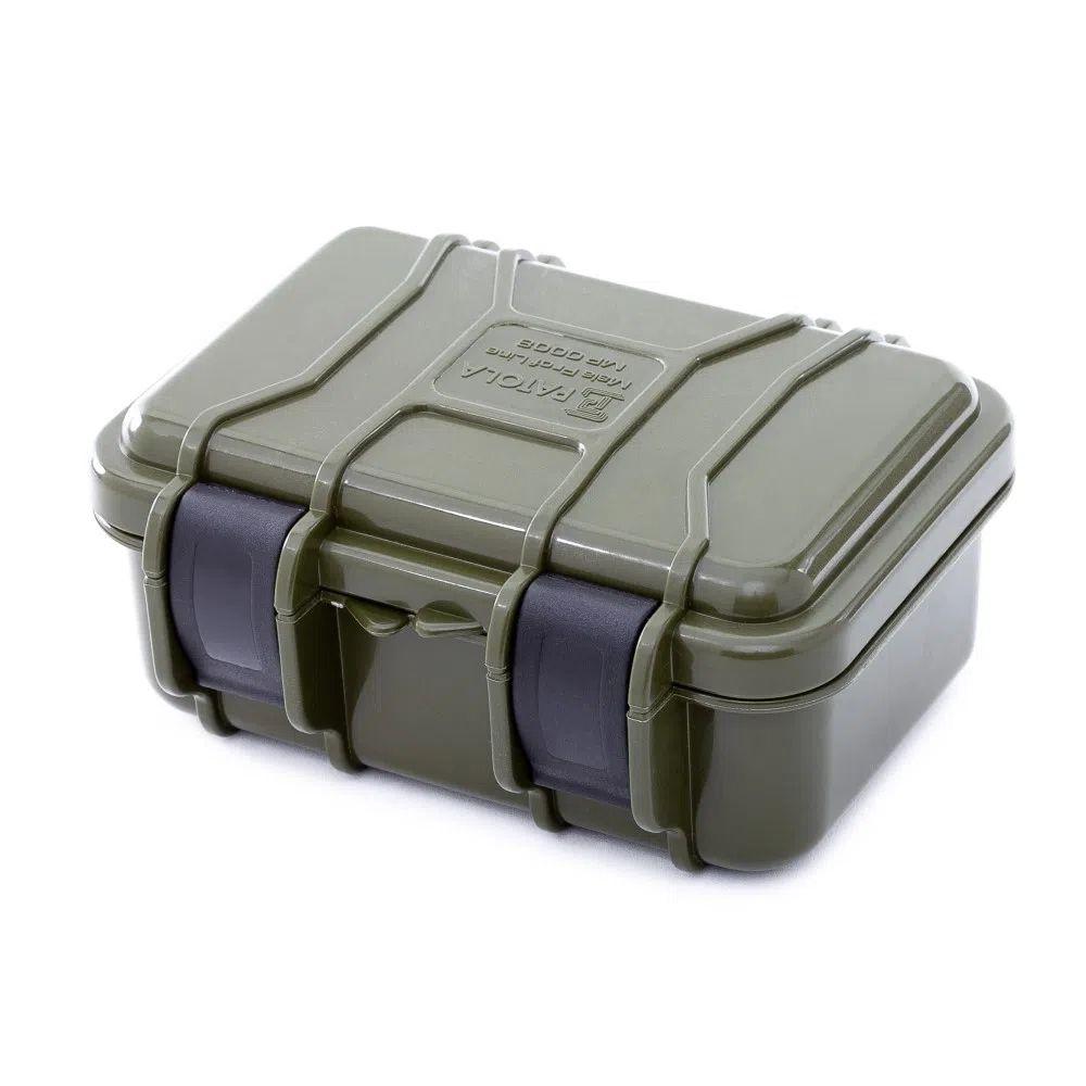 Case Rígido Patola MP-008 Verde Militar  - Casa do Roadie