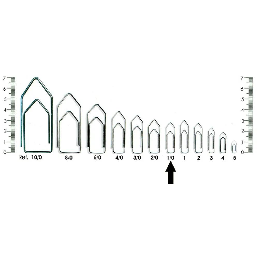 Clips para Papéis Nº00 - 810 Unidades  - Casa do Roadie