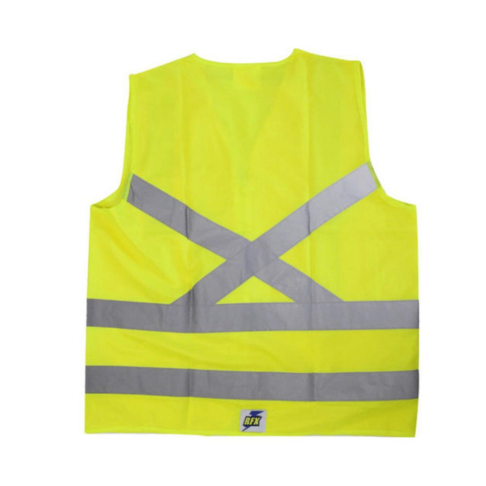 Colete de Segurança Refletivo com 1 Bolso Amarelo XG  - Casa do Roadie