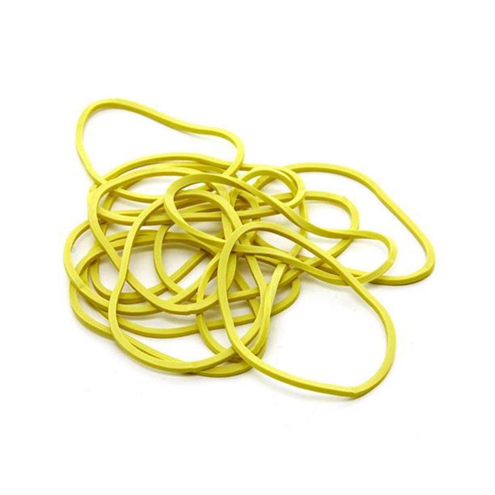 Elástico de Látex Especial Amarelo Para Dinheiro 500g