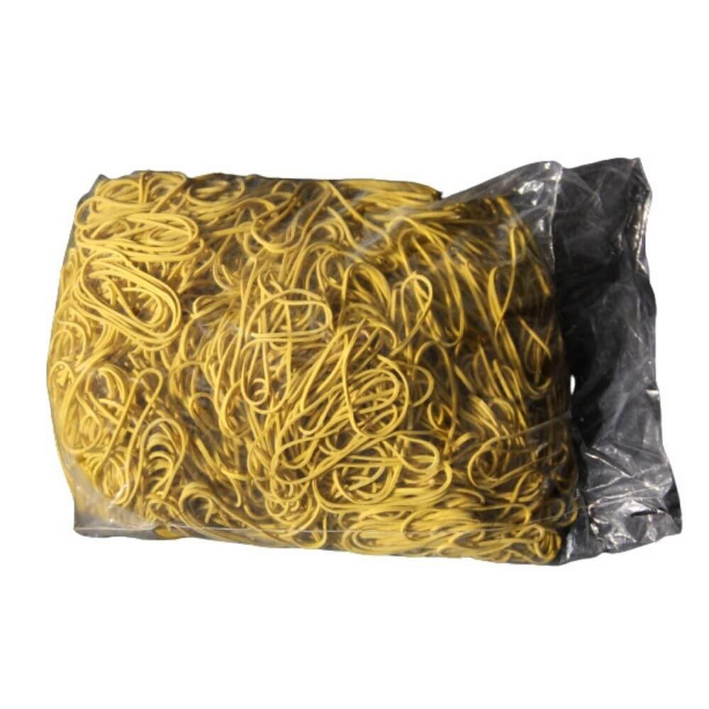 Elástico de Látex n18 Especial Amarelo Para Dinheiro 1kg  - Casa do Roadie