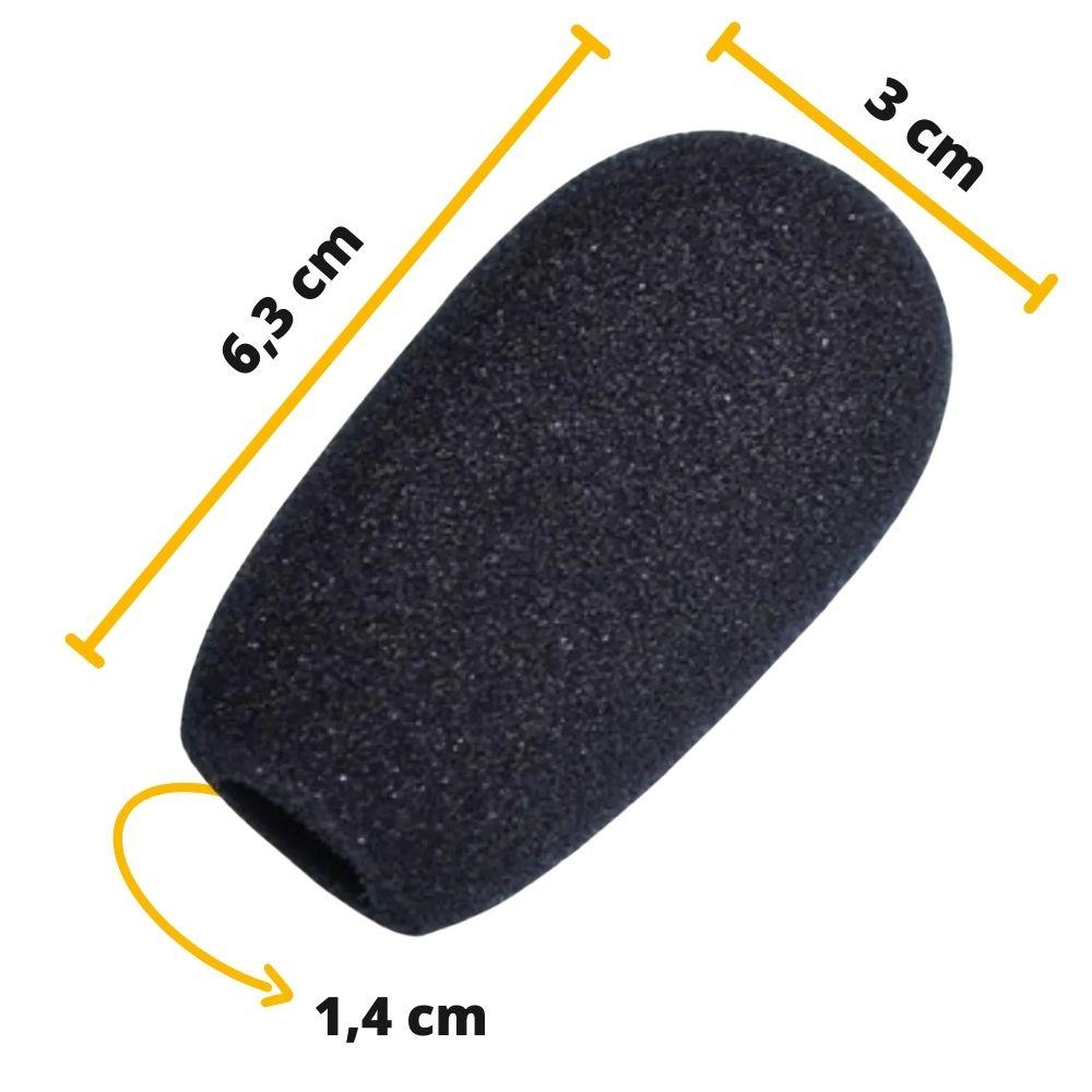 Espuma para Microfone Pulpito ou Mesa AK028