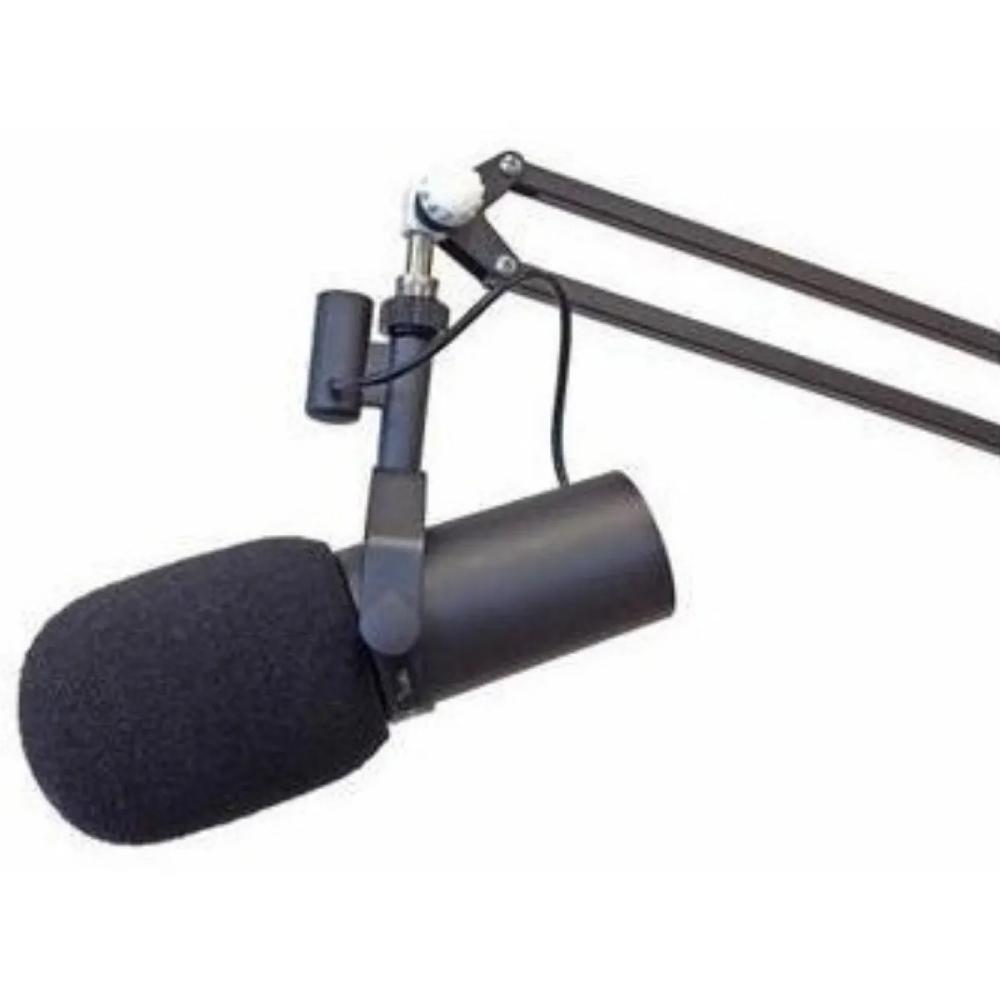 Espuma para microfone Shure SM7B e condensadores AK060  - Casa do Roadie