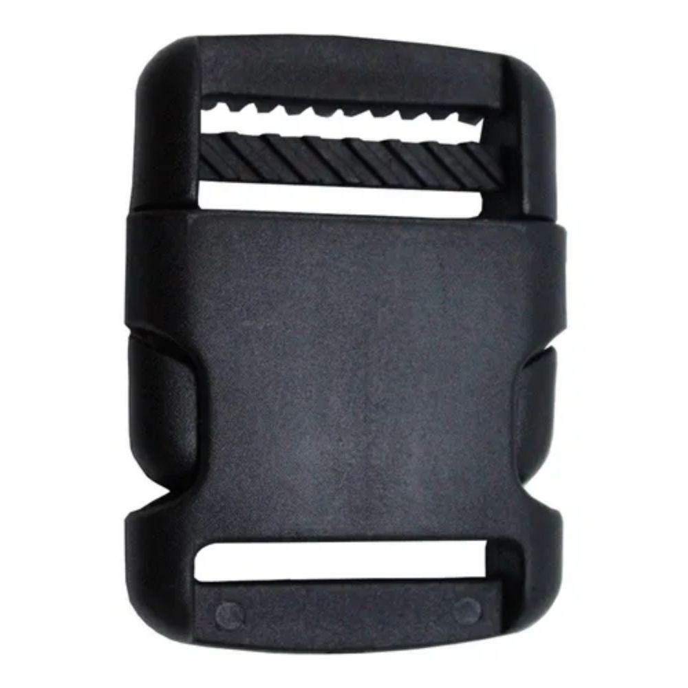 Fecho De Engate Rápido 25mm Arredondado Plástico - kit com 5 unidades