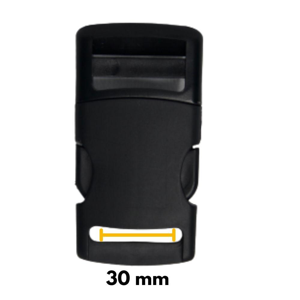 Fecho De Engate Rápido 30mm Nylon