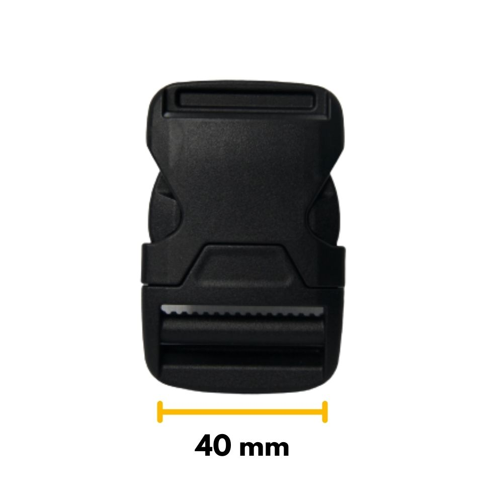 Fecho De Engate Rápido 40mm Nylon