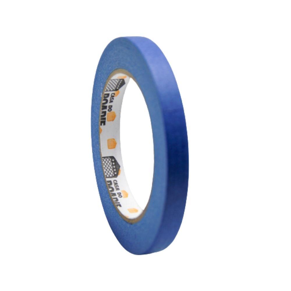 Fita de Papel Crepe Colorida Casa do Roadie 12mm X 50m Azul