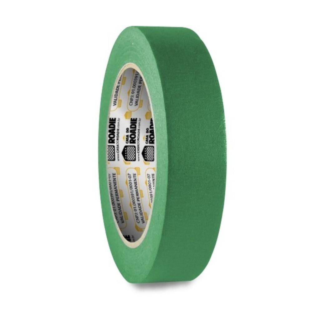 Fita de Papel Crepe Colorida Casa do Roadie 24mm X 20m Verde
