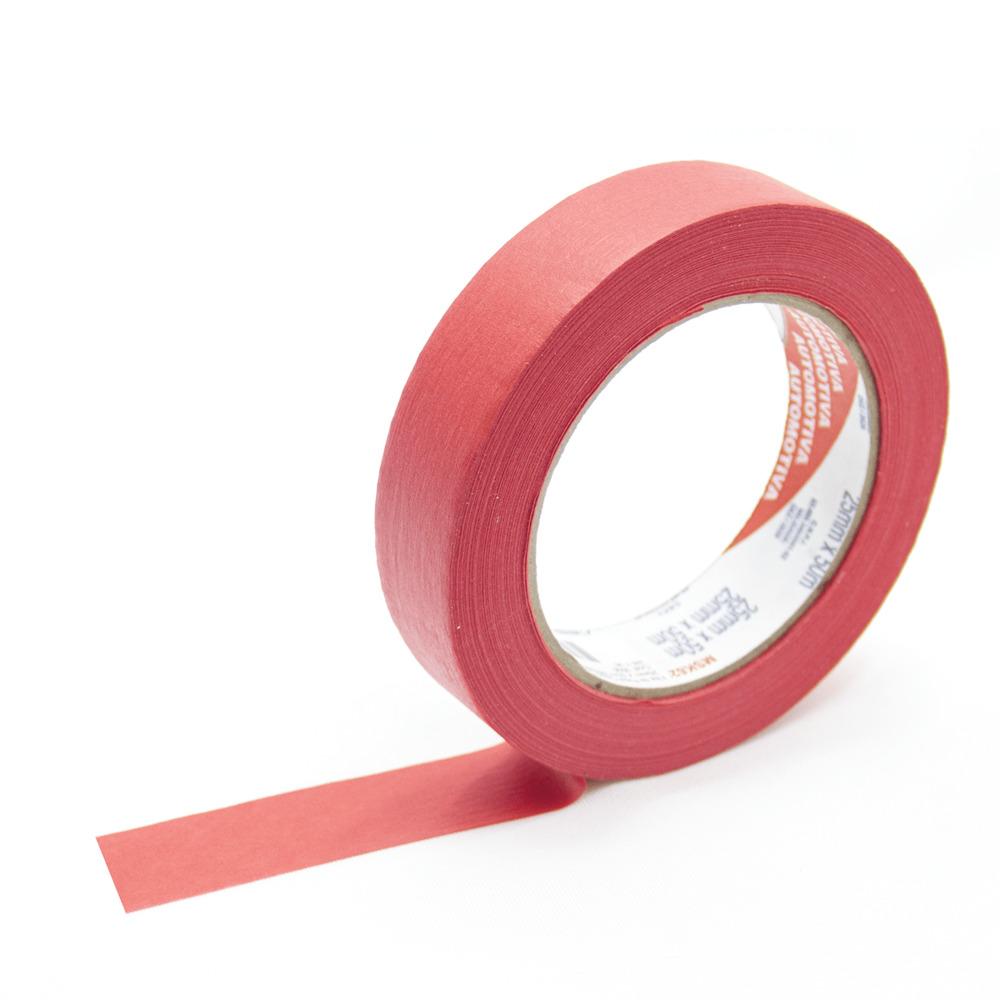 Fita de Papel Crepe Colorida Eurocel 25mm X 50m Vermelha  - Casa do Roadie