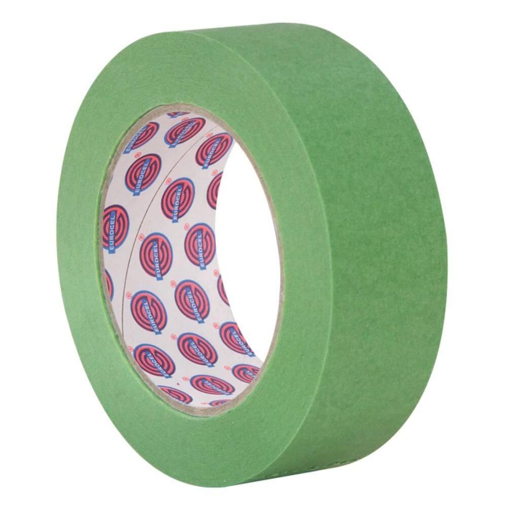 Fita de Papel Crepe Colorida Eurocel 50mm X 50m Verde Claro