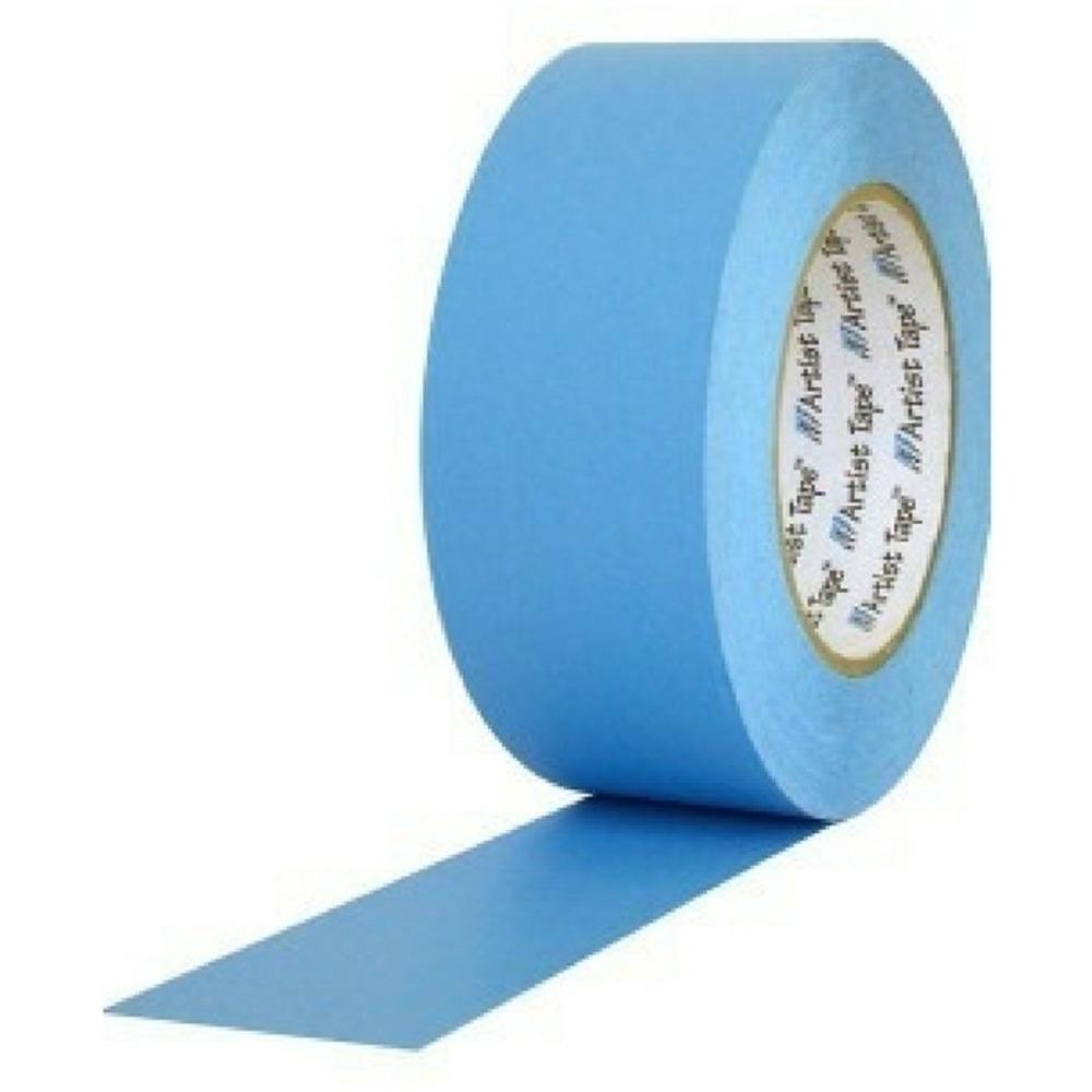 Fita de Papel para Console Artist Tape Pro Tapes 48mm X 50m Azul  - Casa do Roadie