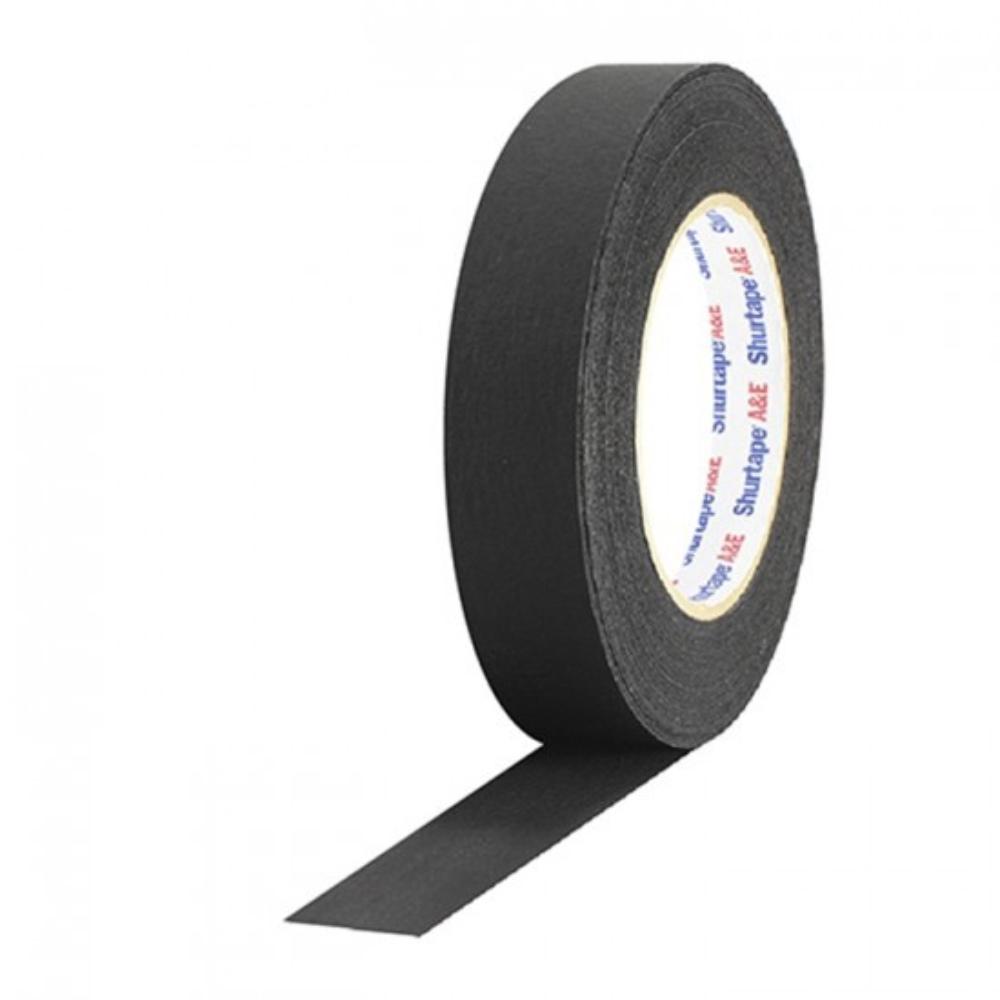 Fita de Papel PhotoTape Shurtape Pro Tapes 25mm X 50m Preta