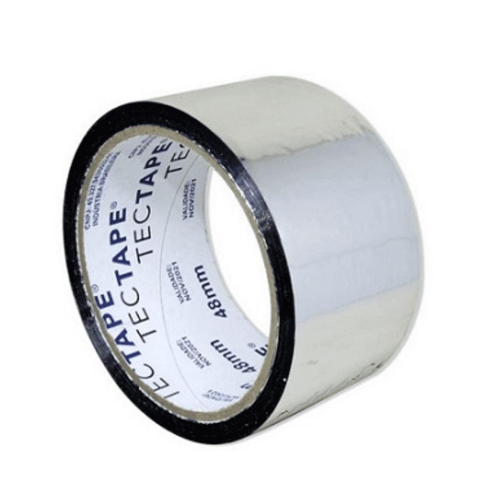 Fita de PVC Aluminizada Tectape 48mm X 45m