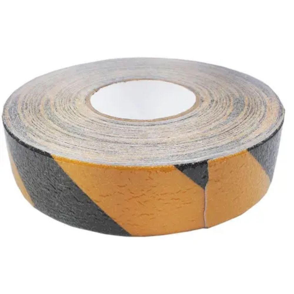 Fita de PVC Antiderrapante FurnaPack 48mm X 30m Amarela e Preta  - Casa do Roadie