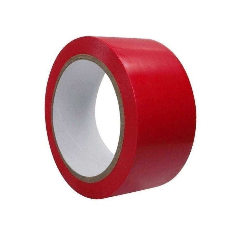Fita de PVC para Demarcação de Solo Casa do Roadie 48mm X 30m Vermelha