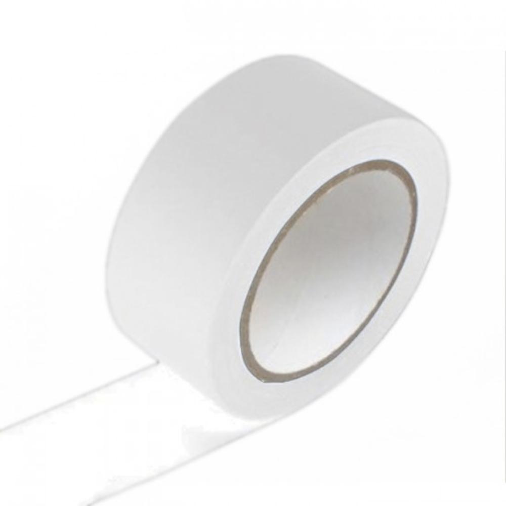 Fita de PVC para Demarcação de Solo Tectape 48mm X 30m Branca  - Casa do Roadie