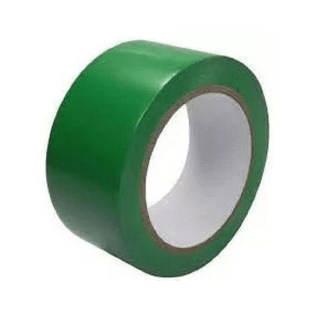 Fita de PVC para Demarcação de Solo THR 48mm X 30m Verde