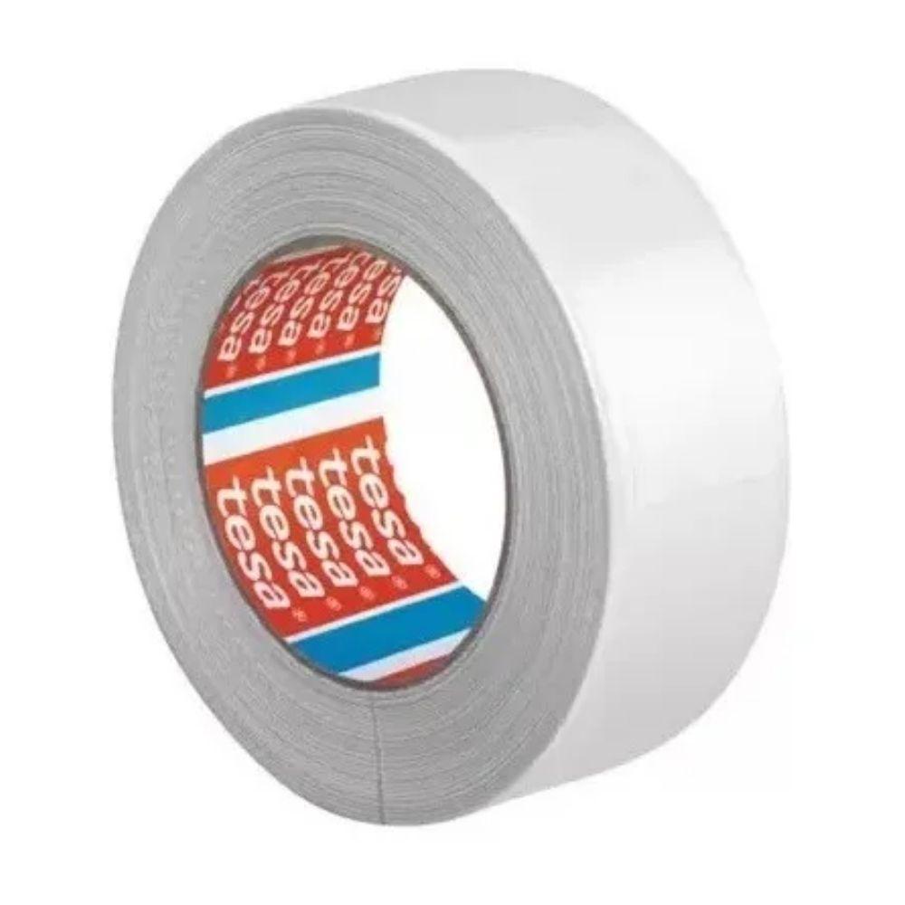 Fita de PVC Silver Tape Multiuso Tesa 48mm X 50m Branca