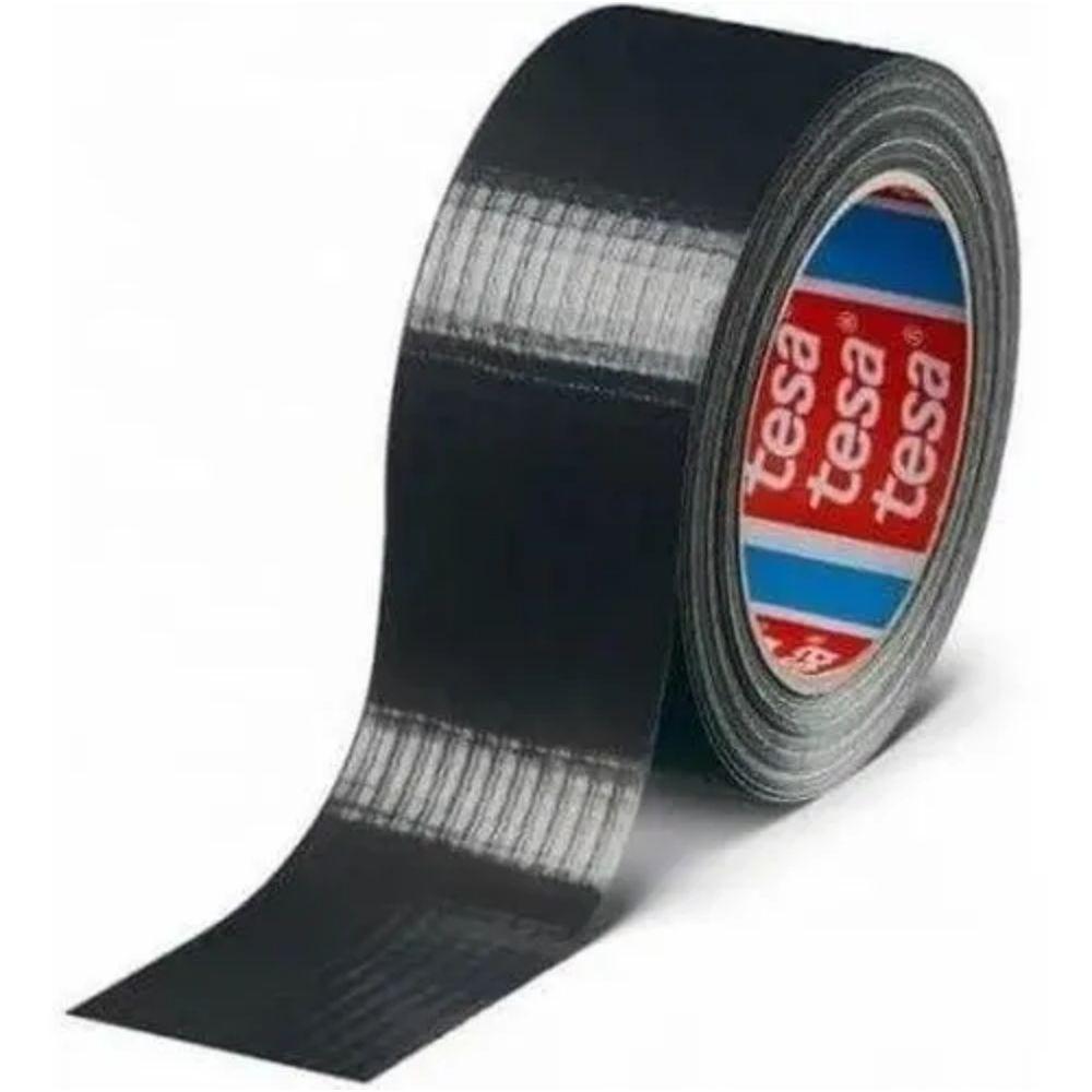 Fita de PVC Silver Tape Multiuso Tesa 48mm X 50m Preta  - Casa do Roadie
