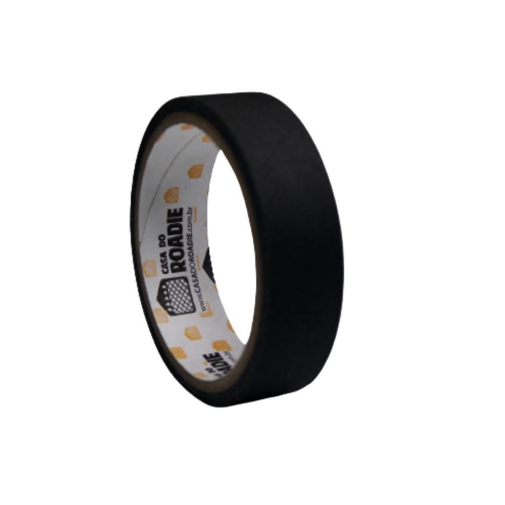Fita de Tecido Gaffer Tape Casa do Roadie 24mm X 5m Preta