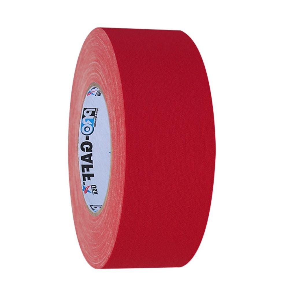 Fita de Tecido Gaffer Tape Pro Gaff Pro Tapes 48mm X 50m Vermelha