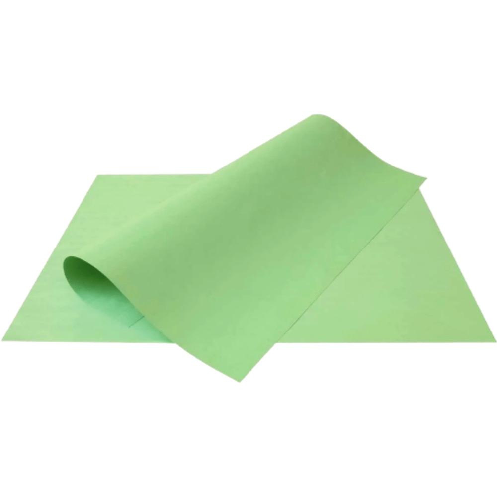 Folha de Cartolina Verde 50cm X 66cm