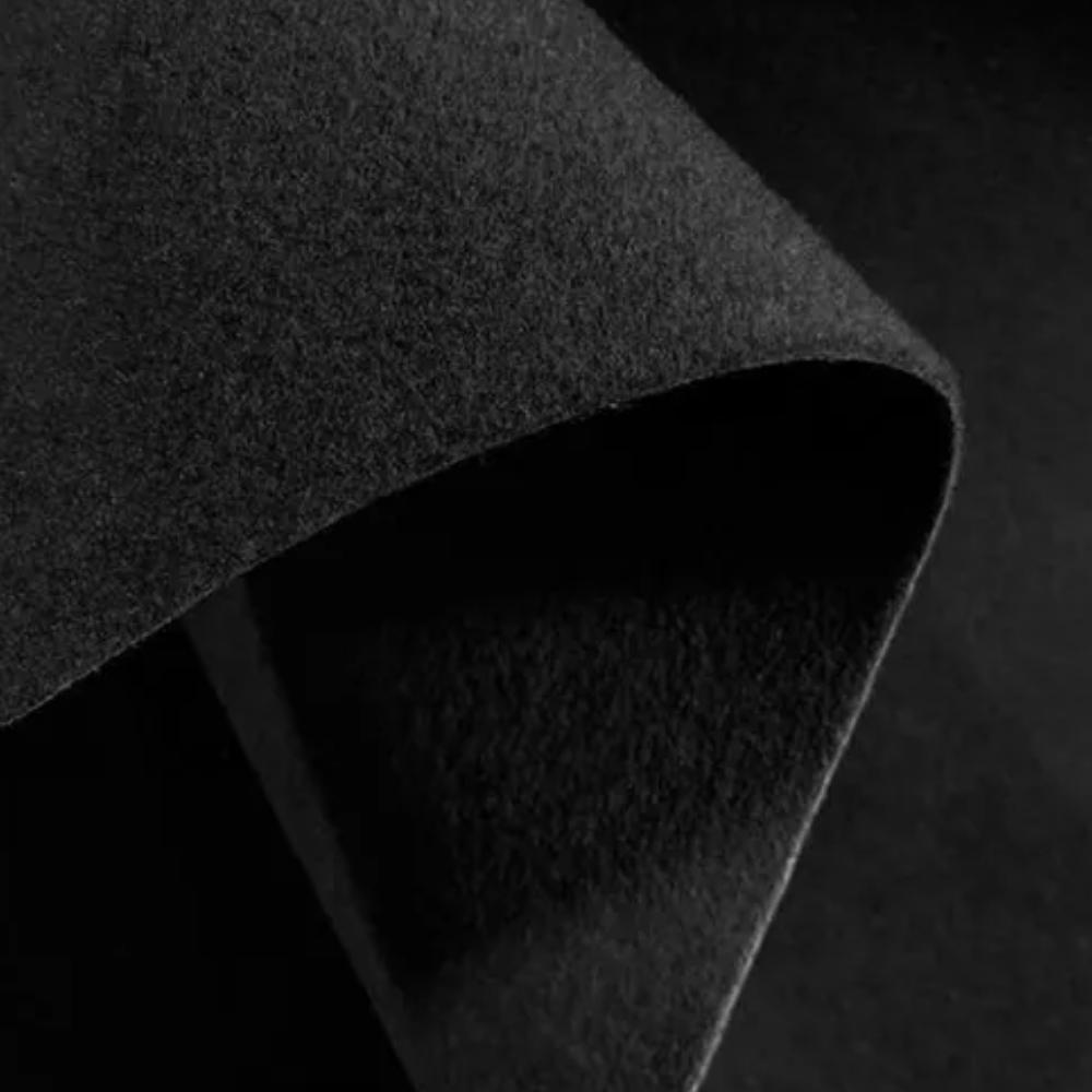 Forração de Carpete 3mm x 2m largura Preto - Metro Linear