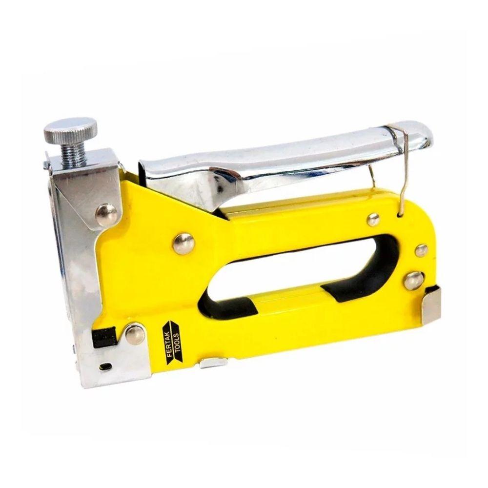 Grampeador de Tapeceiro Profissional Fertak Tools Cód 8501