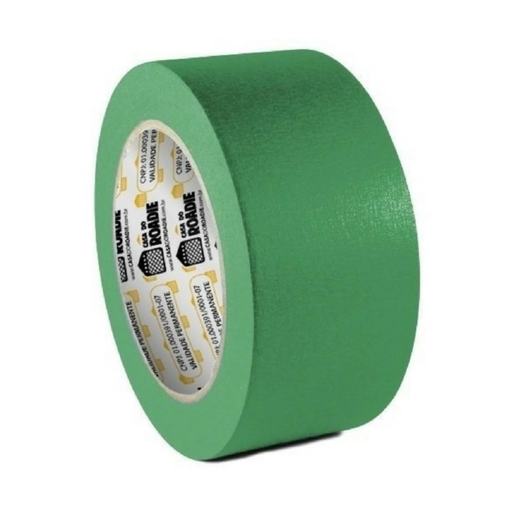 Kit Fita de Papel Crepe Colorida Casa do Roadie 48mm X 20m - 4 Cores  - Casa do Roadie