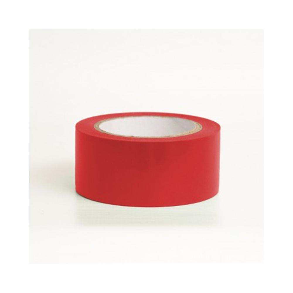 Kit Fita de PVC para Demarcação de Solo Tectape 48mm X 30m - 4 Cores  - Casa do Roadie