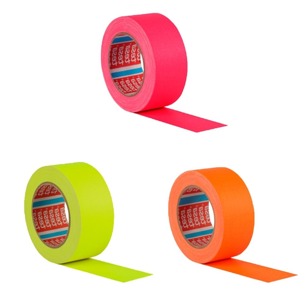 Kit Fita de Tecido Gaffer Tape Tesa 48mm X 25m