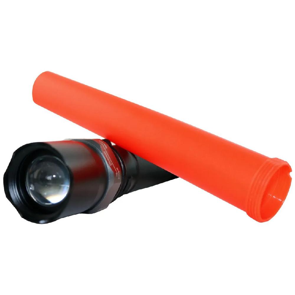 Lanterna LED Tática com Sinalizador Pilha AA  - Casa do Roadie