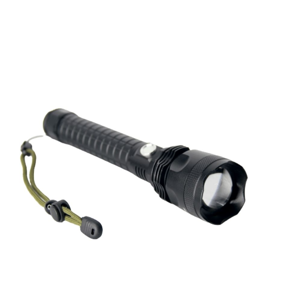 Lanterna LED Tática XML T9 DY-8323 Recarregável