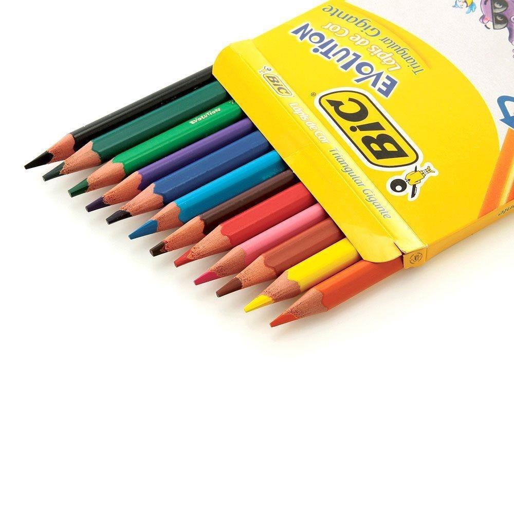 Lápis de Cor Bic - 12 Cores