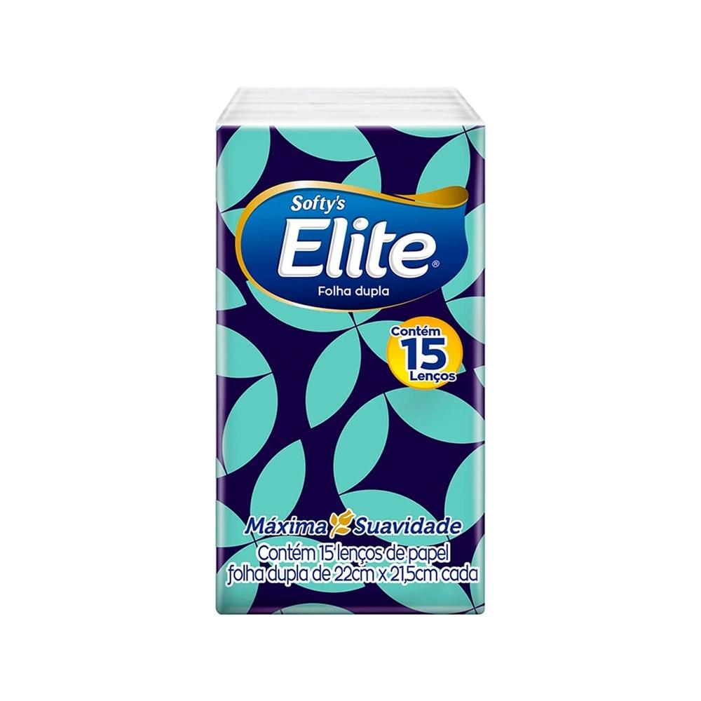 Lenços de Papel Elite Softy
