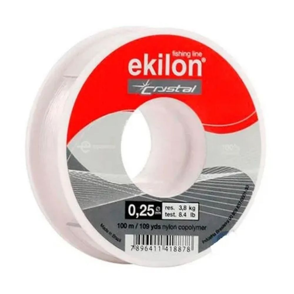 Linha de Nylon 0,25 mm Ekilon