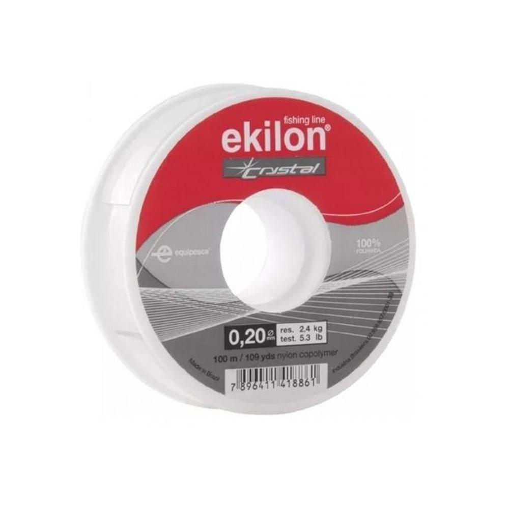 Linha de Nylon Ekilon 0,20mm