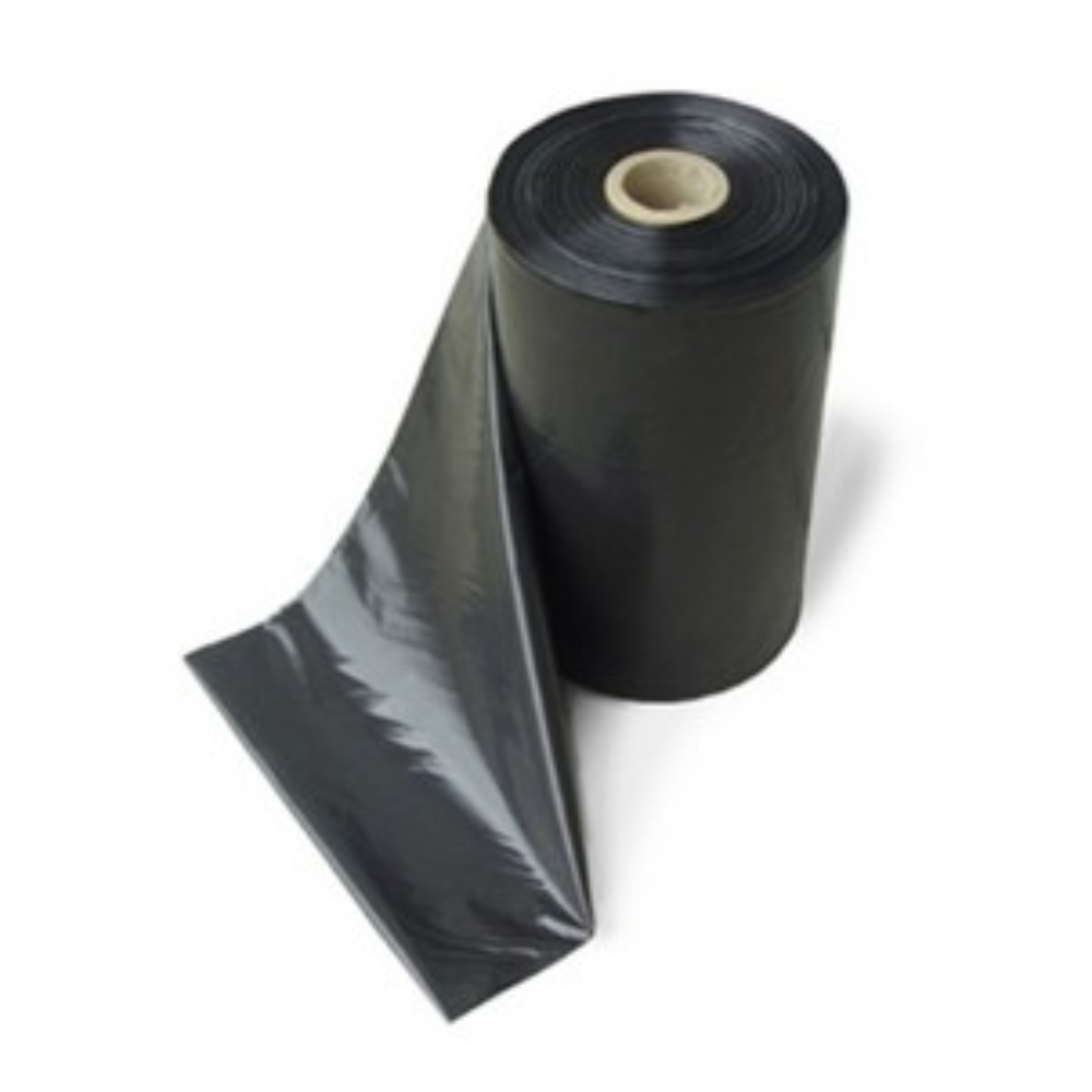 Lona Plástica Fina Preta 4m X 100m - Rolo 13KG