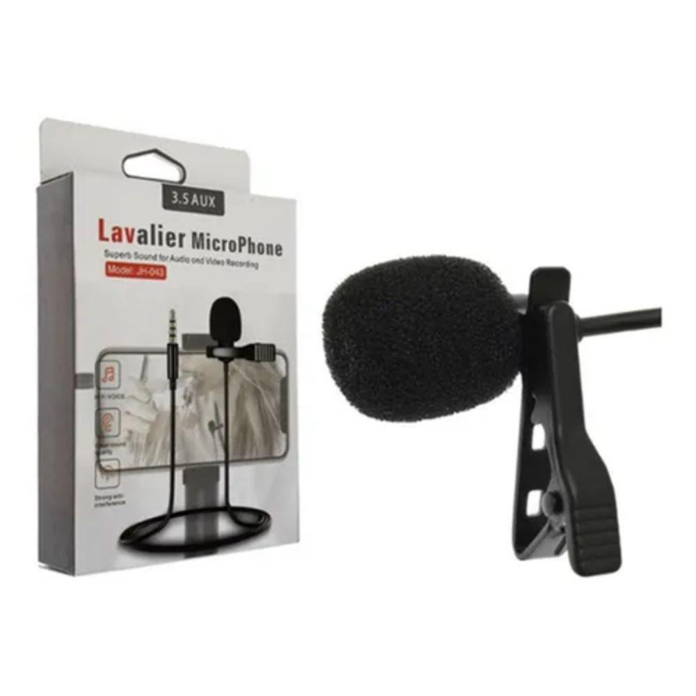 Microfone Lapela para Celular P2 cabo 1,5m