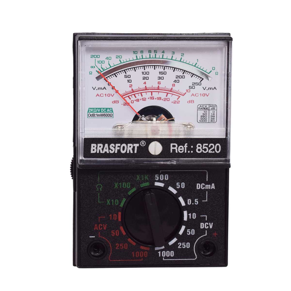 Multímetro Analógico Brasfort