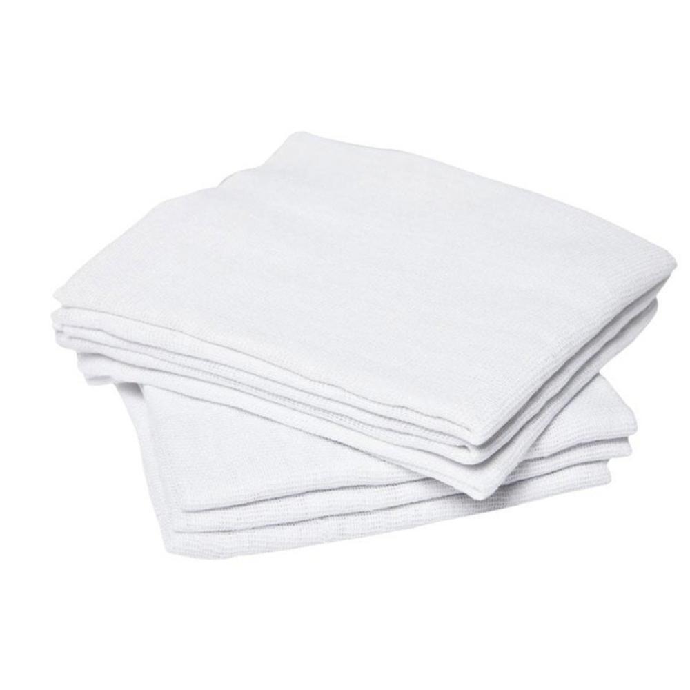 Pano de Chão Alvejado Tipo Saco Branco 45cm x 65cm  - Casa do Roadie