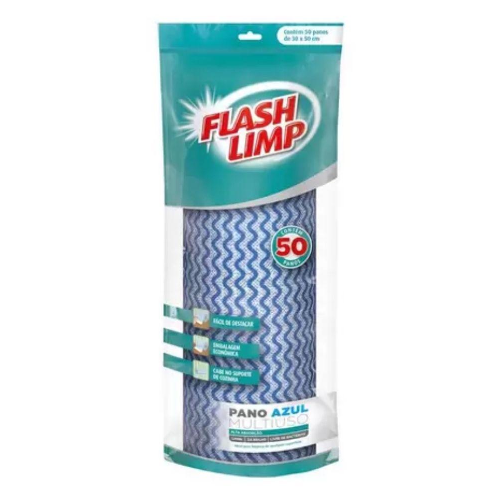 Pano de Limpeza tipo Perfex Flash Limp 30cm X 50cm 50 Panos
